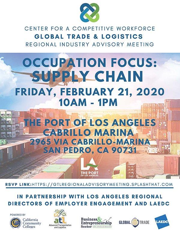 LAEDC Global Trade & Logistics Regional Advisory