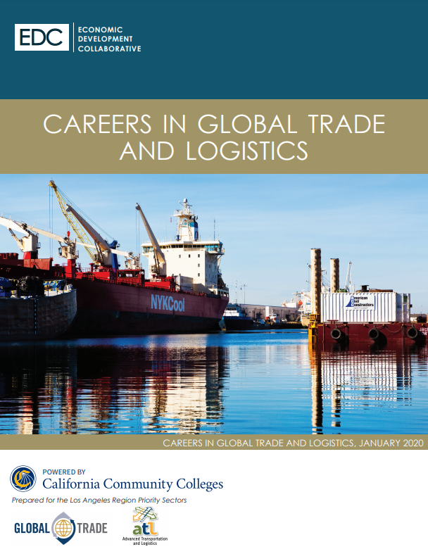 picture of careers in global trade and logistics report